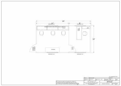 20' X 10' OFFICE CABIN 2