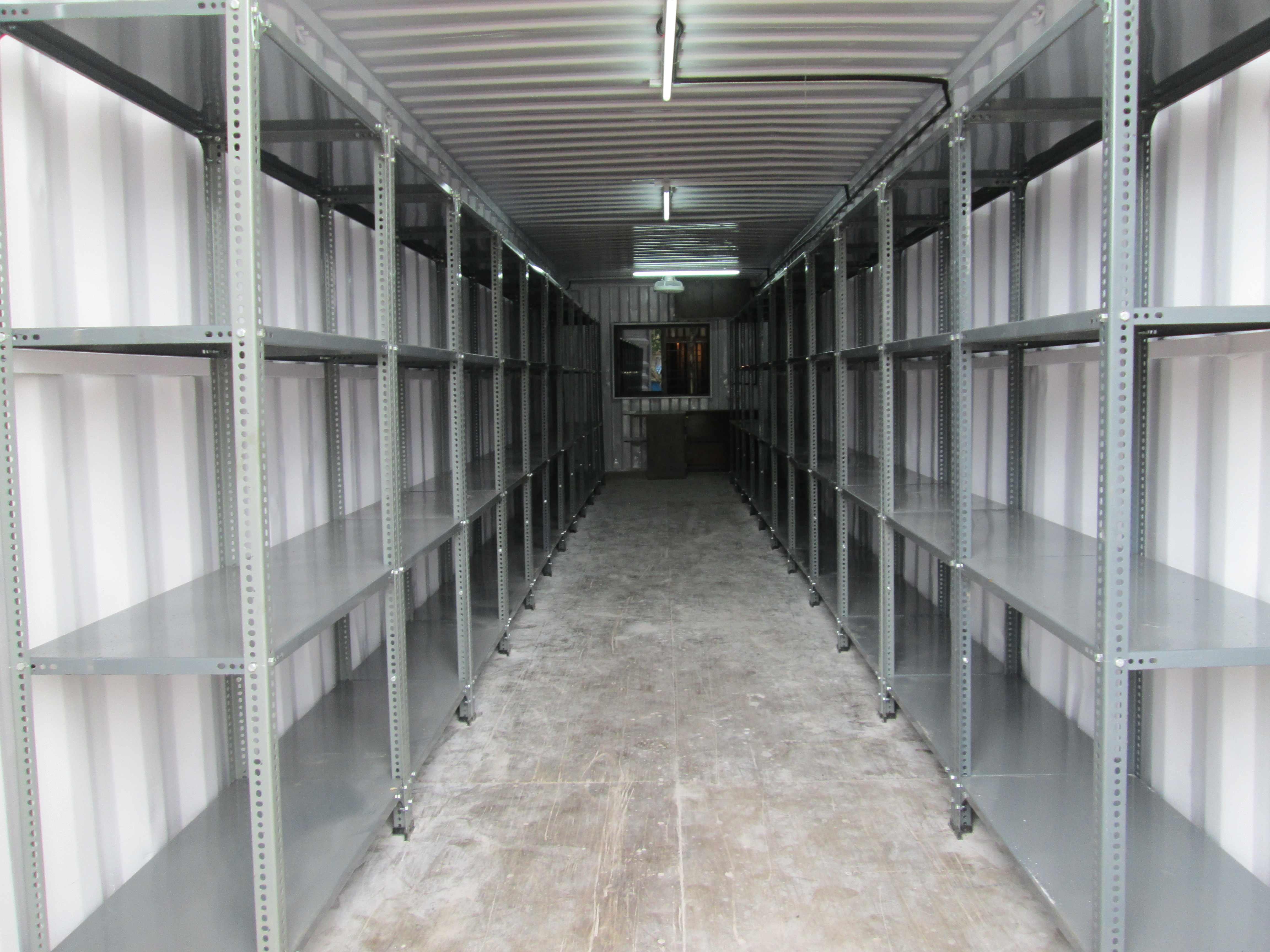 storage rack container
